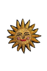 Sun Embroidered Bullion Pin