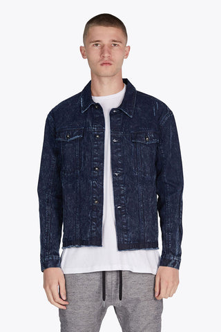 Snitch Denim Jacket // Vintage Navy Acid