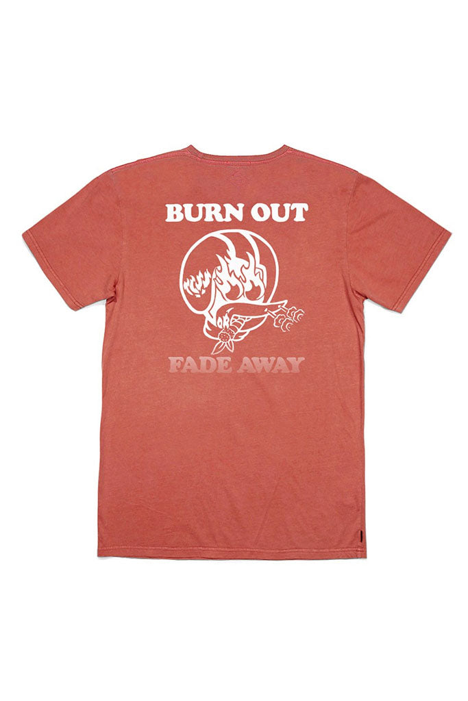 Burn Out Tee // Red