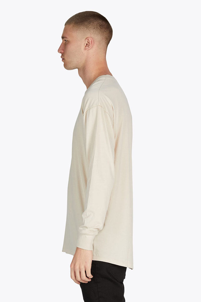 Rugger LS Tee // Natural