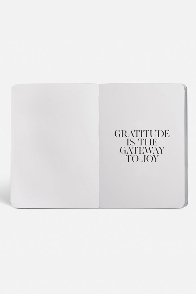 Gratitude Journal // White & Gold