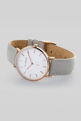 The Classic // Grey - White - Rose Gold