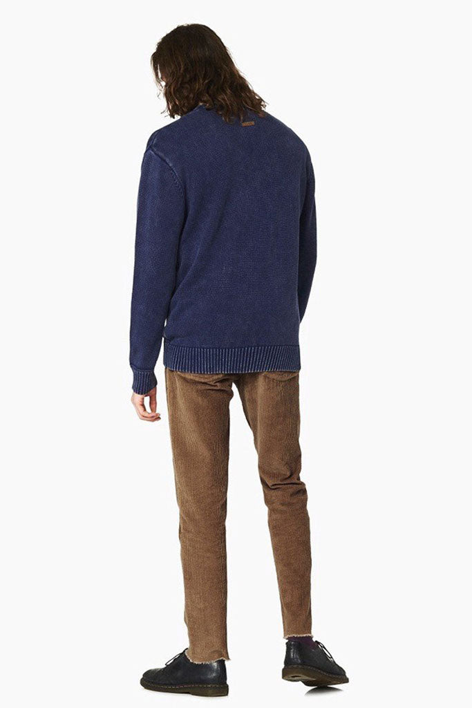 Journey Knit Crew // Indigo