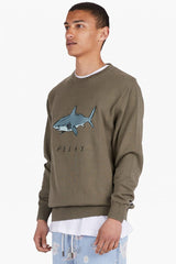 Shark Relax Knit // Army
