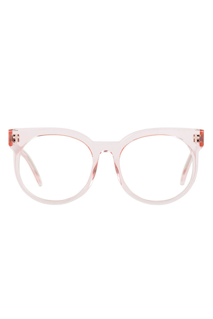 Leeches Optical // Crystal Pink / Clear