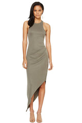 Earth Warrior Racer Dress // Khaki