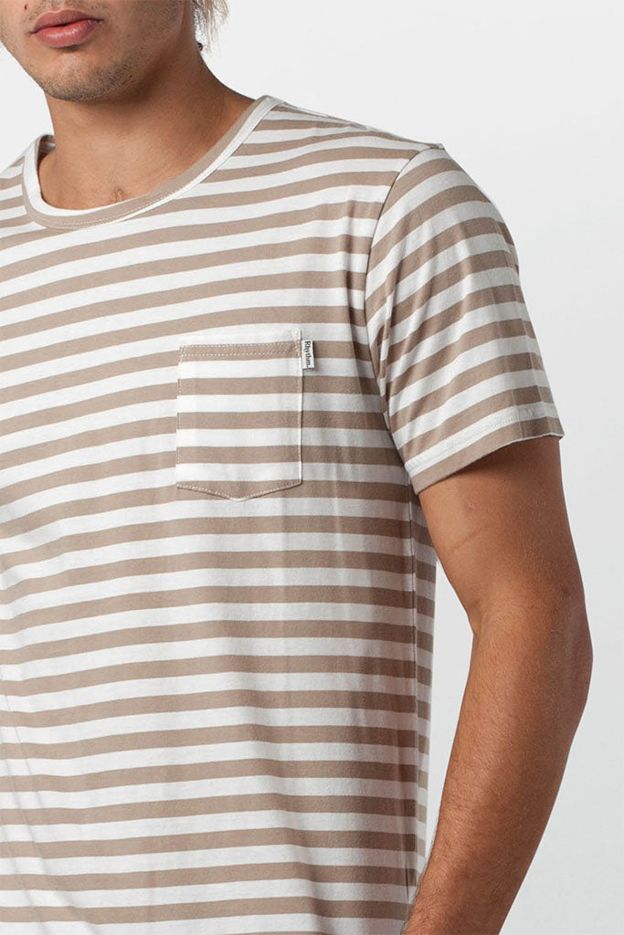 Everyday Stripe T-Shirt // Sand