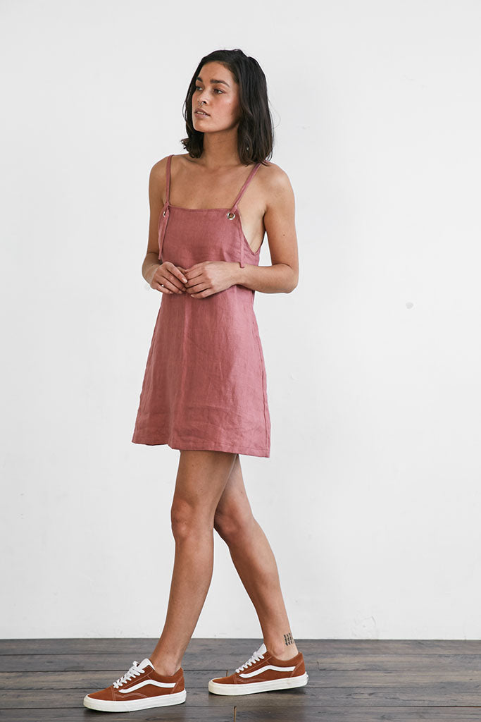 Jace Mini Dress // Blush