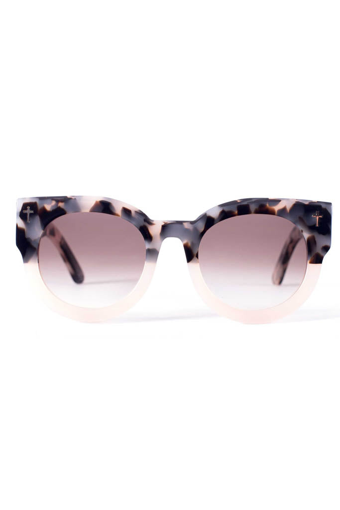 ADCC // Baby Pink to Tort / Black Gradient Lens