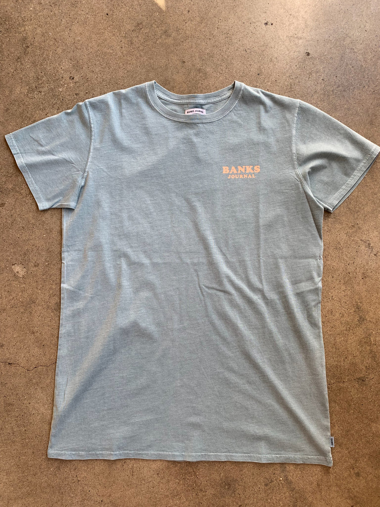 Lullaby Tee Shirt // Stone Blue