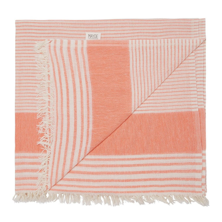 New Farm Towel // Peach