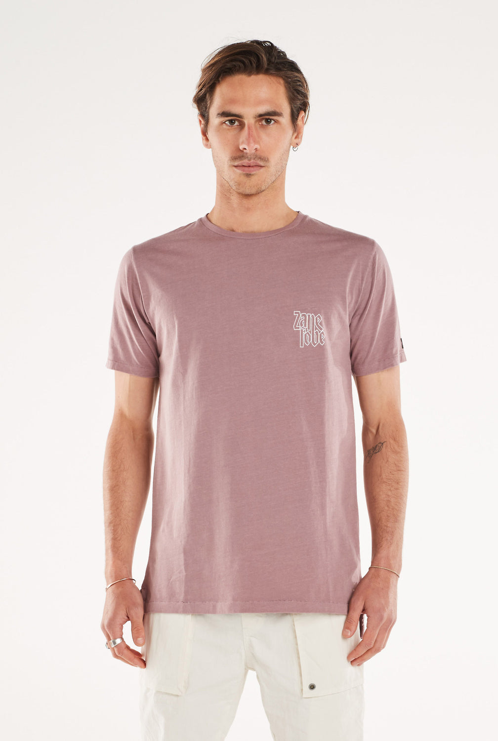 Press Flintlock Tee // Mauve