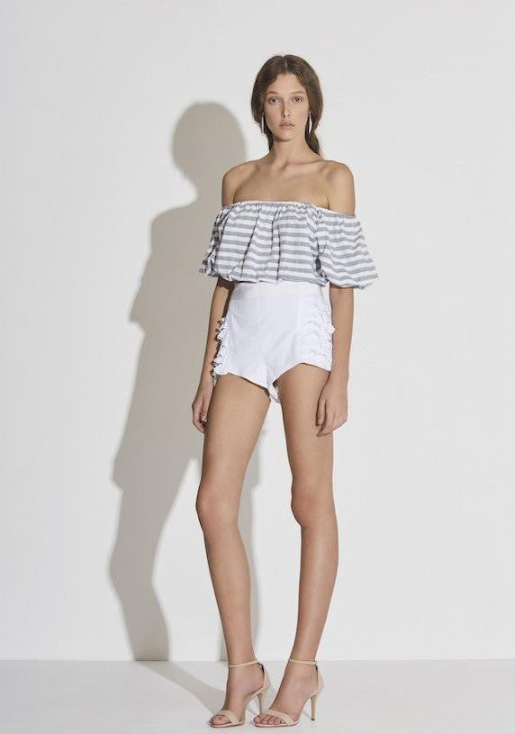 Marlo Top // Stripe