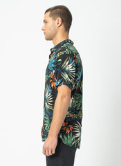 Holiday SS Shirt // Black Tropics