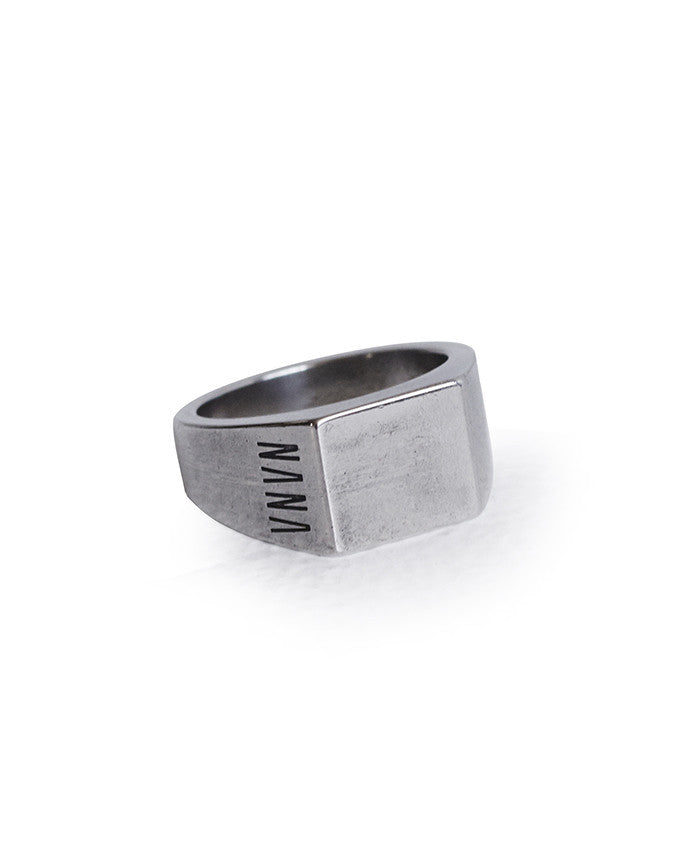 Nana Lourd Ring // Antique Silver