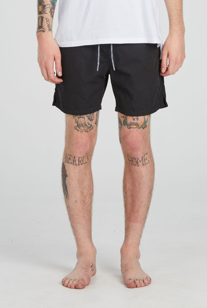 Tulum Short // Washed Black