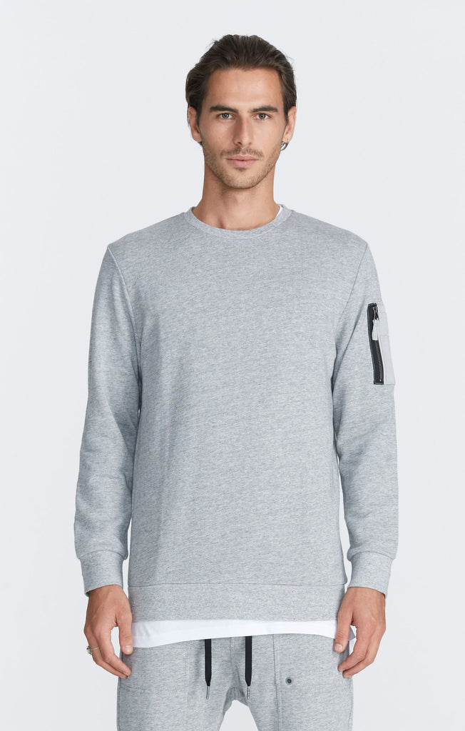 Pack Crew Sweat // Grey Marle