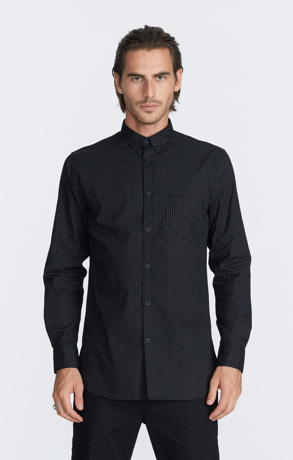 Tiktak 7ft LS Shirt // Black