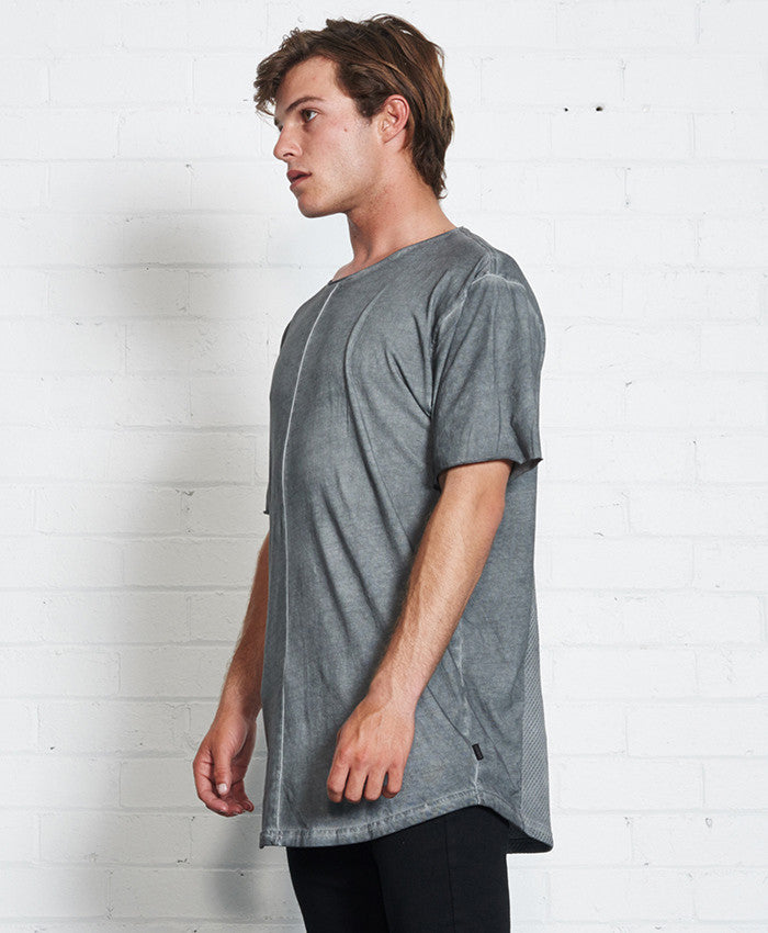 Le Mans Tee // Acid Grey