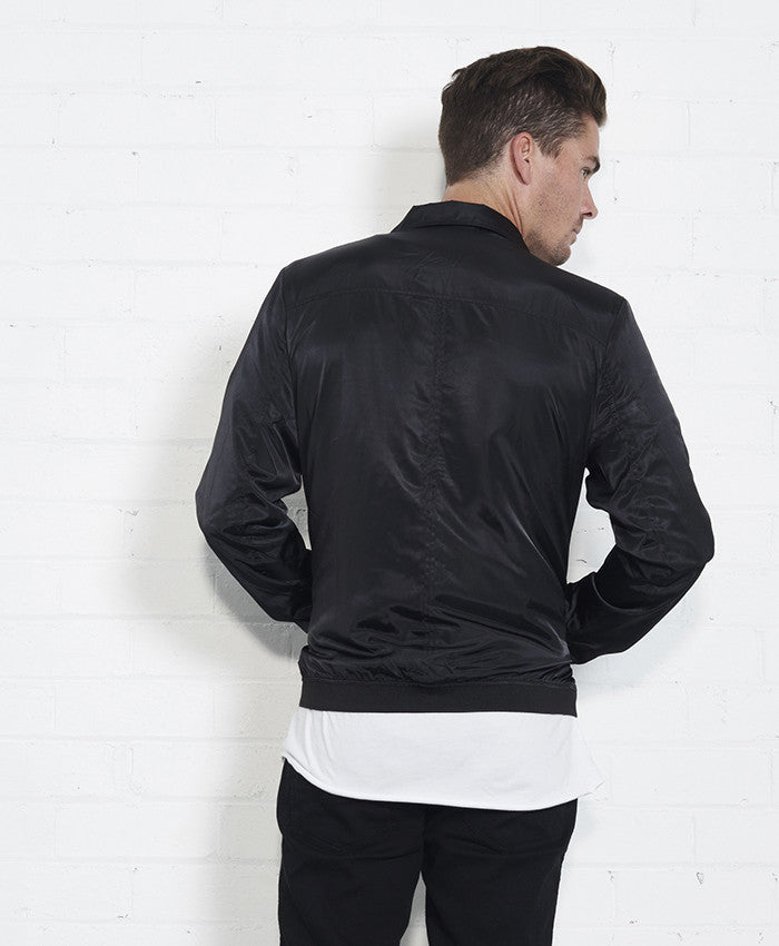 Kingfisher Jacket // Black