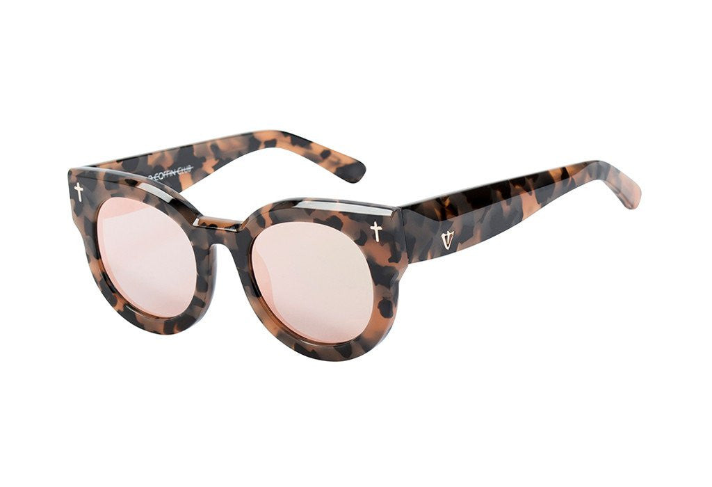 ADCC // Peach Tort & Rose Gold Mirror Lens