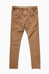 Mr Lazy Cord Pant // Camel