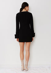 New Order Dress // Black