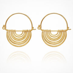 Baye Earrings // Gold