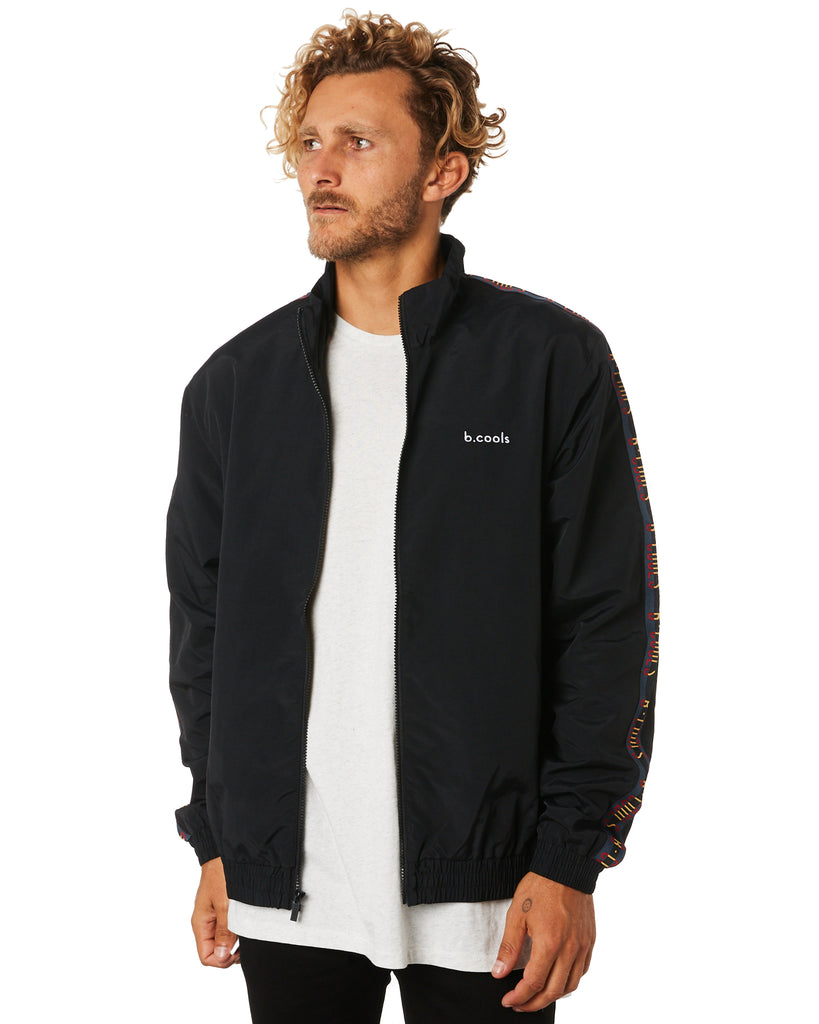 B.Quick Track Jacket // Black