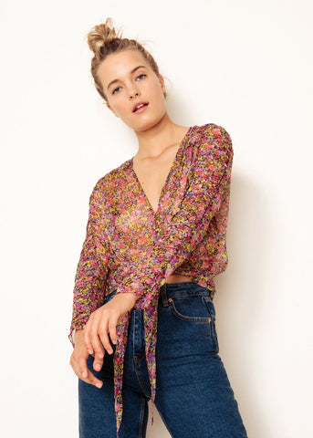 Freya Top // Wild Flower