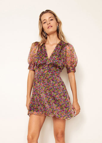 Freya Mini Dress // Wild Flower