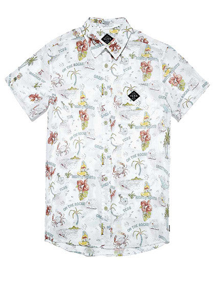 Happy Hours SS Shirt // White