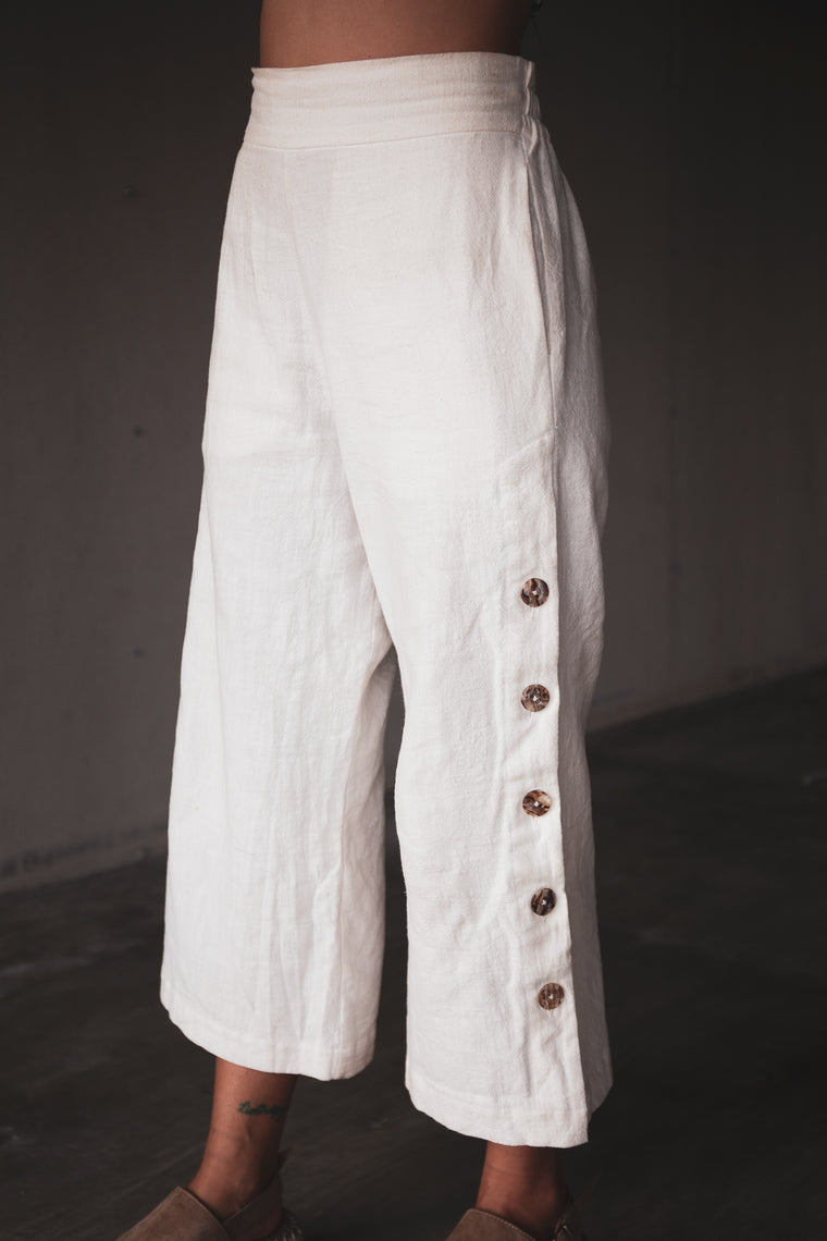 The Gessica Trouser /. Ivory