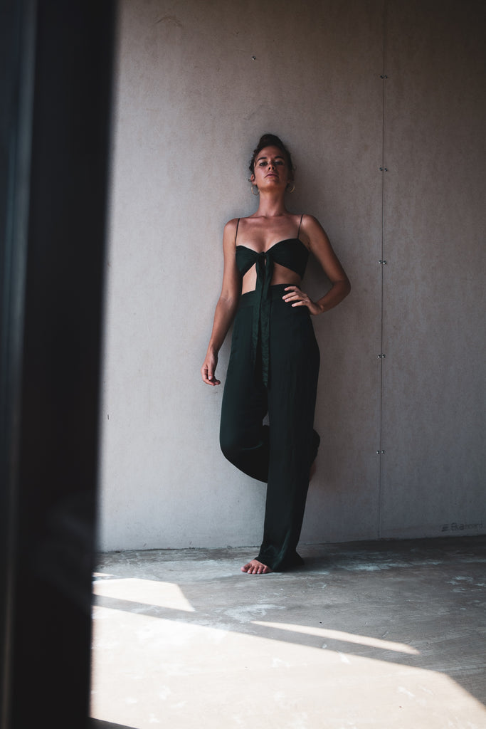 The Rae Pant /. Emerald