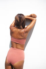 Bandeau Top /. Dusty Rose