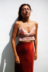Little Lace Cami /. Dusty Rose