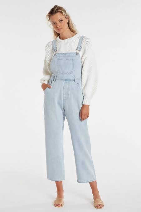 Equalise Denim Overall // Washed Blue