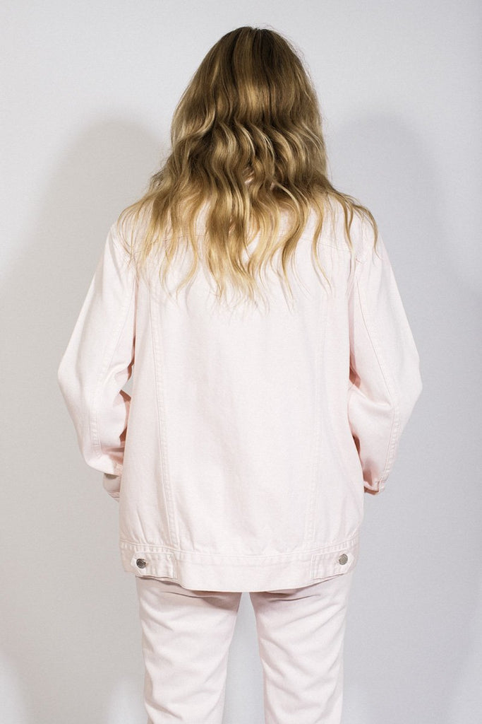 Slouch Jacket // Faded Pink