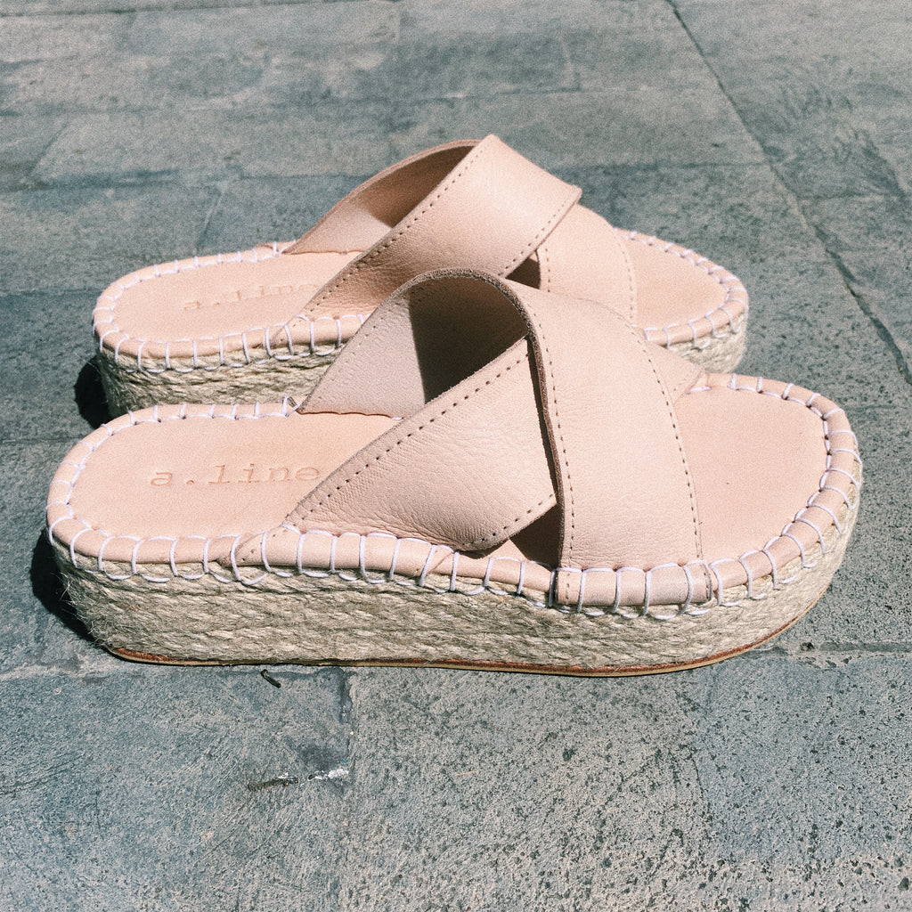 Maddox Blush Slide // Dusty Rose