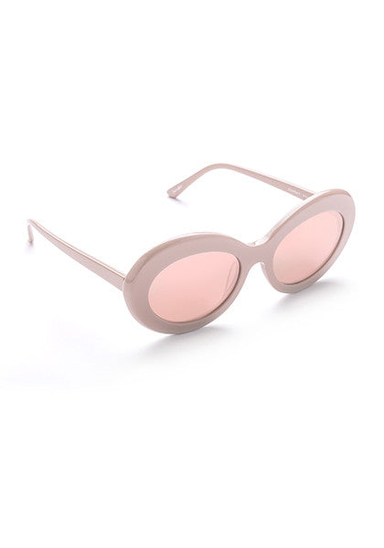 Kurt // Gloss Dirty Pink with Rose Gold Mirror Lens