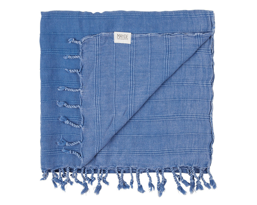 Avalon Blanket // Denim