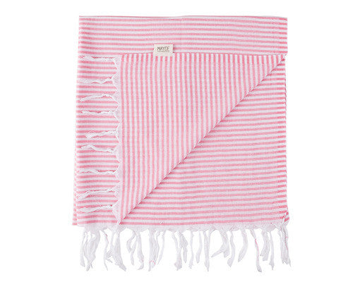 Noosa Towel // Hot Pink