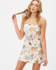 Animal Instinct Mini Dress // Wilderness