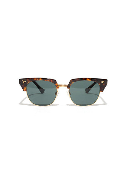 Neto // Tortoise Polished - Gold - Green
