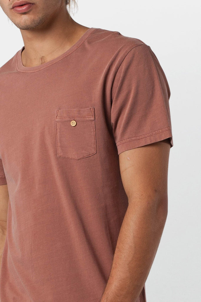 Everyday Wash T-Shirt // Washed Out Russet