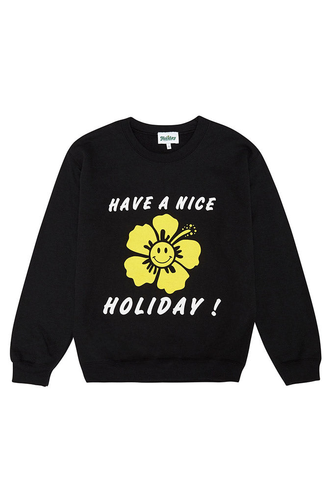 Have A Nice Holiday Sweater // Black