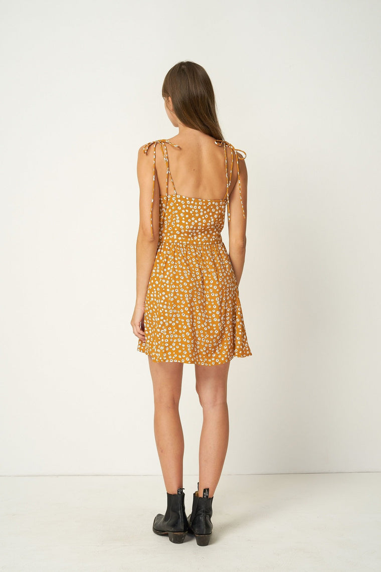 Palmdale Mini Dress // Colorado Daisy Desert Sun