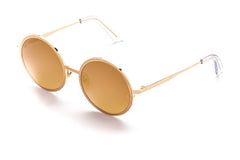Charlie // Gold w/ Bronze Mirror Lenses