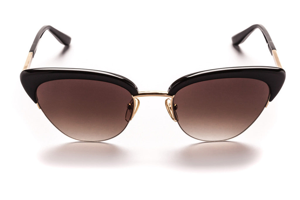 Pixie // Gloss Black w/ Bronze Mirror Lenses