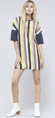 Webster Stripe Dress // Stripe